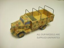 wargames vehicles.  WW2 German Opel Blitz truck. 1/56 28mm QUICKIT (819)