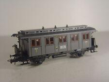 K.P.E.V. Personenwagen grau  - Roco HO 1:87 Wagen 4229 S - #800 #E - gebr.
