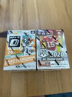 1 Optic 1 Mosaic NFL Blaster box lot 2020 2021 Panini Football free Ship Herbert