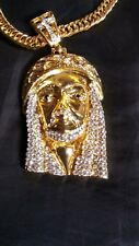 14k gold plated Jesus peice