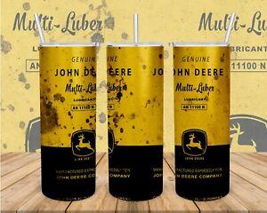 Vintage John Deere Dirty 20oz Tumbler ( NEW IN BOX )- FREE PRIORITY SHIPPING