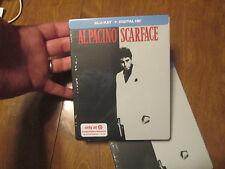 SCARFACE Blu-Ray DIGITAL HD LIMITED EDITION STEELBOOK AL PACINO EXCLUSIVE TARGET
