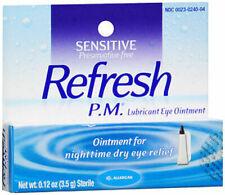 Refresh P.M. Lubricant Eye Ointment 0.12 oz (3.5 g) Each