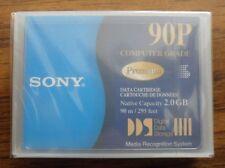 SONY 2GB DIGITAL DATA TAPE PART NUMBER DG90P LOT OF 2
