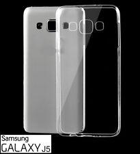 Funda de silicona transparente para Samsung Galaxy J5 - carcasa gel protectora