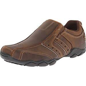 Skechers Men's Diameter shoe,10.5 EE - Wide,Dark Brown