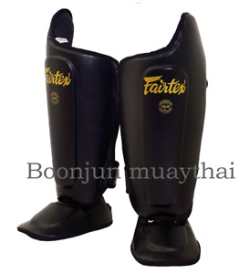 Fairtex SP8 Shin Guards Muay Thai Kick Boxing Training Shin Pads Protection MMA