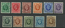 1934-36 Set of Photogravure Issues in Superb Used condition.