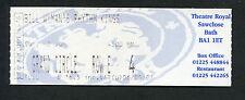 Bill Wyman 2001 Unused Full Concert Ticket Theatre Royal Bath Rolling Stones