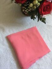 Women Soft Long Neck Large Scarf Wrap Shawl Fashion Plain Chiffon Pink Scarves