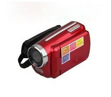 Mini Video Camera 12MP 4xZoom 1.8 inch LCD DV Camcorder Kids gift Red