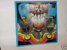 Edwin Starr LP Record Happy Radio Unplayed Stock