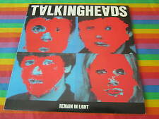 TALKING HEADS REMAIN IN LIGHT ORIG USA PRESSING WITH CUSTOM INNER AND LYRIC SHEE