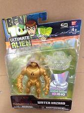 "Ban Dai Ben Ten 10 Ultimate Alien UA Water Hazard 4"" inch Figure Gold Limited"