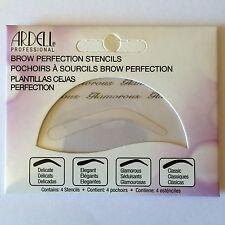 Ardell Cejas perfección Plantillas-Cejas esténciles. 4 Estilos Gabinete. Gratis Envío