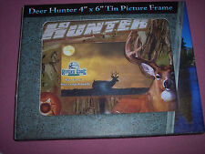 "Rivers Edge Picture Frame Deer Hunter 4"" x 6"", Nib"