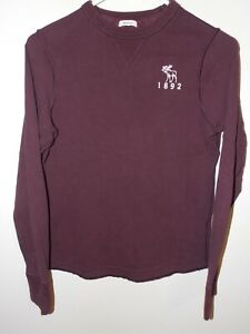 Boy's Abercrombie Kids Long Sleeve  T-Shirt Large