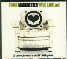 FROM MANCHESTER WITH LOVE 2 CD BOX New Order Lamb 808 State Sub Sub Intastella