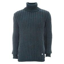 VERSACE Collection 100% Wool Chunky Knit Sweater Top Jumper M/L New