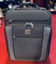 """The Sharper Image Wheeled Carry On Computer Bag Travel Never Used 18 x 14 x 11"""""""