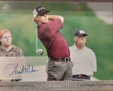 HUNTER MAHAN 2005 SP Signature Golf Signature Shots AUTOGRAPHED 8X10 UDA