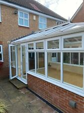 More details for upvc conservatory with glass roof .no.19ng
