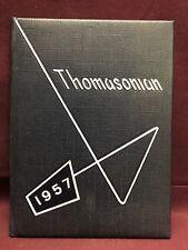 Thomasonian 1957 St. Thomas High School yearbook, Detroit Michigan