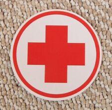Aufkleber Rotes Kreuz f. Verbandkasten NVA Trabi LO W50 Barkas Ural GAZ UAZ ZIL