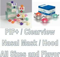 Accutron PIP+ / Clearview Personal Inhaler Plus Disposable Nasal Hood all sizes