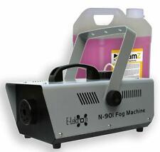 E-Lektron N-901 Nebelmaschine 900W DJ Party Fog Smoke Effekt inkl. 5L Nebelfluid
