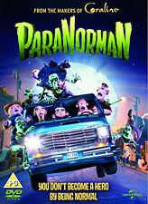 PARANORMAN - DVD - REGION 2 UK