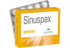 Lehning Sinuspax 60 tabs Homeopathy for sinus rhinitis - Original