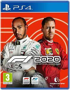 F1 2020 (PS4) - New & Sealed - Region Free - Fast Dispatch -UK
