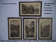 Vintage Hand-Painted Raphael Tuck  Postcards 'The Trossachs'  2507.AH9364.