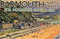 Vintage Advertising Booklet Barmouth North Wales
