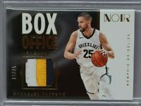2017-18 NOIR Box Office Memorabilia Chandler Parsons 3-Color Patch 14/25
