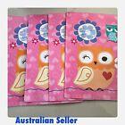 5 Plastic Book Covers Australian Seller