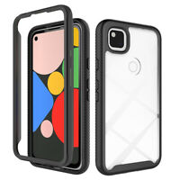 For Google Pixel 4a Case Shockproof Protective Clear Back Hybrid Phone Cover