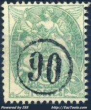 FRANCE TYPE BLANC N° 111 BELLE OBLITERATION JOUR DE L'AN N°90 A VOIR