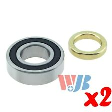 Pair of 2 Rear Wheel Bearing with Lock Collar WJB WBRW207CCRA Cross RW-207-CCRA