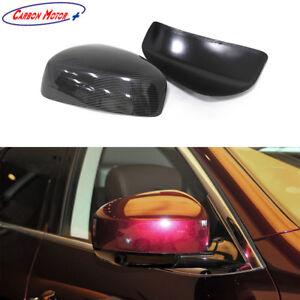 Carbon Fiber Mirror Cover for Infiniti FX35 FX37 EX25 EX37 09-14 JX35 QX50 60 70