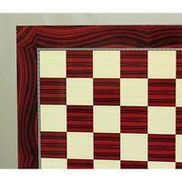 WorldWise Imports Red Grain Decoupage Chess Brd