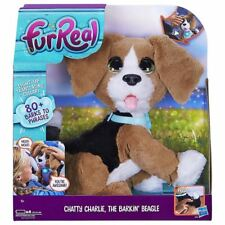 Hasbro FurReal Chatty Charlie The Barkin Beagle Interactive Puppy Dog Ages 4+