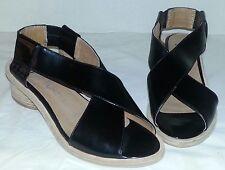 NEW JEFFERY CAMPBELL IBIZA LAST BLACK COLUMBO SANDALS Shoes WOMEN'S SIZE 7
