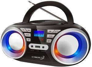 CD-Player CD-Radio Tragbares Kinder Radio Kompaktanlage Stereo Anlage Boombox