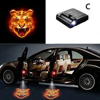 Wireless Welcome Light LED Door Step Shadow Projector Courtesy Light Laser