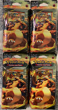 NON MINT PACKAGING* *POKEMON RELENTLESS FLAME THEME DECK x 1 FACTORY SEALED