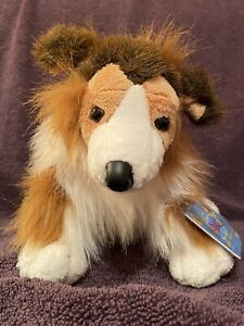 Webkinz COLLIE New with Sealed Code Tag, HM149 NO Smoke NWT Perfect Retired 1/08