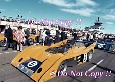 Denis Hulme McLaren M20 Edmonton Can Am 1972 Photographie 2