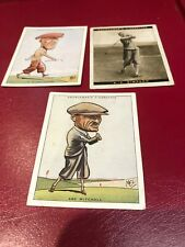 More details for churchman - famous & prominent golfers x3 d.a.whitcombe abe mitchell simpson